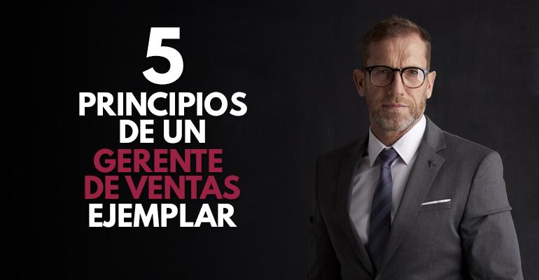 5 Principios de un gerente de ventas